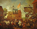 Southwark Fair 1733 - William Hogarth