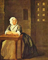 Sarah Malcolm In Prison 1733 - William Hogarth