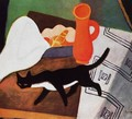 Cat and Still life 1930 - Paul Brill