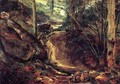 Mountain Stream in the Auverne 1830 - Theodore Rousseau