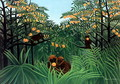 The Tropics - Henri Julien Rousseau