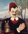 Portrait of Mr X (Pierre Loti) 1905-1906 - Henri Julien Rousseau
