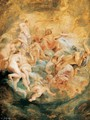 Psyche taken up into Olympus 1621 - Peter Paul Rubens