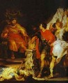 Peter Paul Rubens And Anthony Van Dyck Mucius Scaevola Before Porsenna 1620 - Peter Paul Rubens