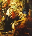 Madonna With The Saints 1638-1640 - Peter Paul Rubens