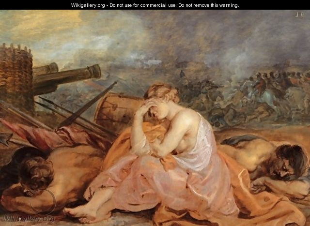 Allegory of war 1628 - Peter Paul Rubens