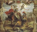 Achille Slays Hector - Peter Paul Rubens