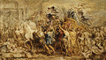 The Triumph of Henry IV sketch 1627 - Peter Paul Rubens