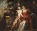The Holy Family with Saints Francis and Anne and the Infant Saint John the Baptist probably early 1630s - Peter Paul Rubens