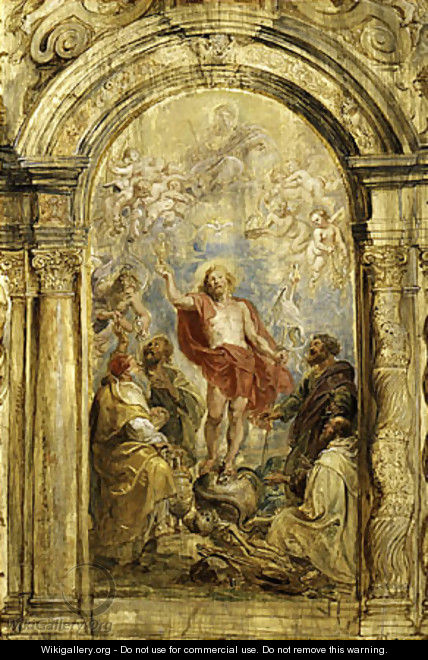 The Glorification of the Eucharist probably ca 1630 - Peter Paul Rubens