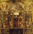 Temple Of Janus Study 1635 - Peter Paul Rubens