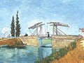 Landlois Bridge 1888 - Vincent Van Gogh