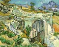 Entrance To A Quarry Near Saint Remy 1889 - Vincent Van Gogh