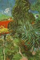 Doctor Gachets Garden In Auvers 1890 - Vincent Van Gogh