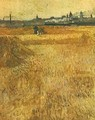 Arles View From The Wheat Fields 1888 - Vincent Van Gogh