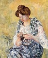 Woman with Grapes 1900 - Leon De Smet