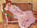 Woman on a Sofa 1901 - Leon De Smet