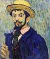Self Portrait 1892 - Leon De Smet