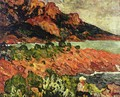 Rocks at Agay 1904 - Leon De Smet