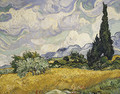 Wheat Field with Cypresses 1889 - Vincent Van Gogh