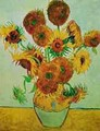 Still Life Vase With Fourteen Sunflowers 1883 - Vincent Van Gogh