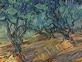 Olive Grove Bright Blue Sky 1889 - Vincent Van Gogh