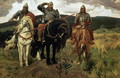 Warrior Knights 1881 98 - Viktor Vasnetsov