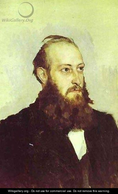 Portrait Of Victor Goshkevich The Founder Of The Historic Aarchaeological Museum In Kherson 1887 - Viktor Vasnetsov
