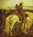 A Knight At The Crossroads Detail 1882 - Viktor Vasnetsov