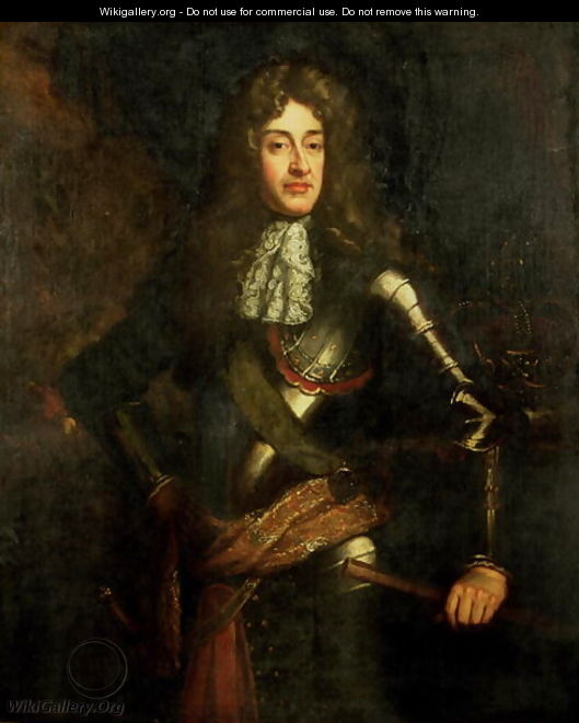 Portrait of King James II - Sir Godfrey Kneller