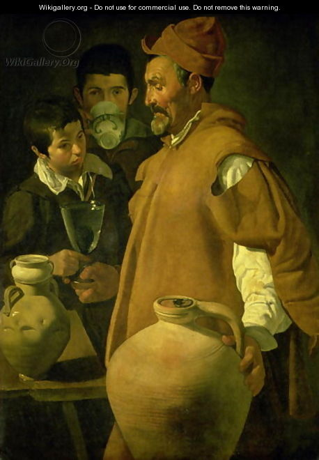 The Water Seller of Seville 1620 - Diego Rodriguez de Silva y Velazquez
