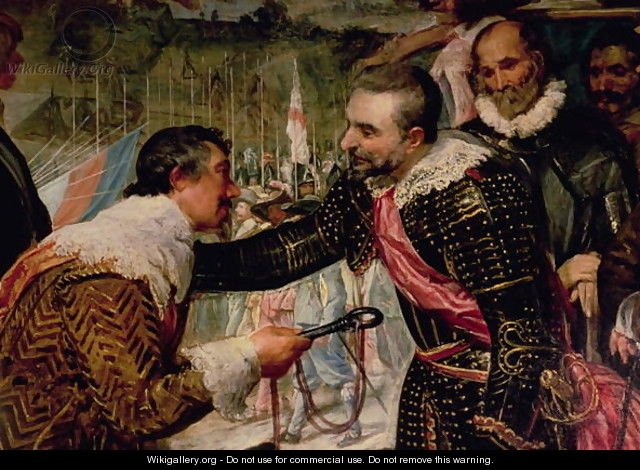 The Surrender of Breda 2 - Diego Rodriguez de Silva y Velazquez