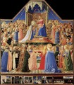 Coronation of the Virgin 1434-35 - Fra (Guido di Pietro) Angelico