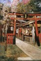 Entrance of a Church in Kyoto - Gyula Tornai