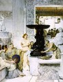 The Sculpture Gallery - Sir Lawrence Alma-Tadema