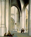 Interior of the St. Bavo Church, Haarlem - Pieter Jansz