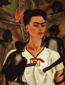 Self Portrait With Monkey 1943 - Frida Kahlo