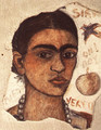 Self Portrait Very Ugly 1933 - Frida Kahlo