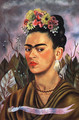 Self Portrait Dedicated To Dr Eloesser 1940 - Frida Kahlo