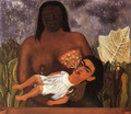 My Nurse And I 1937 - Frida Kahlo