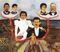My Grandparents My Parents And I 1936 - Frida Kahlo
