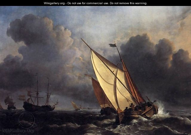 Dutch Fishing Boats in a Storm 1801 - Joseph Mallord William Turner