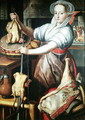 Martha Preparing Dinner for Jesus - Pieter Aertsen
