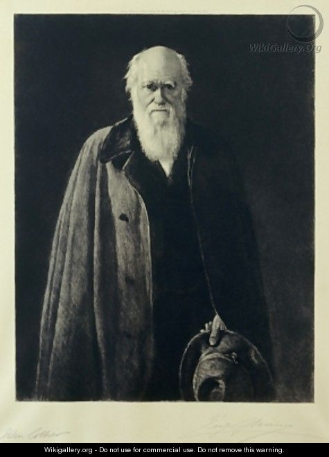 Charles Darwin - (after) Collier, John