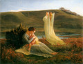 The Poem of the Soul The Angel and the Mother - Louis Janmot