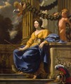 Allegorical Portrait of Anna of Austria as Minerva - Simon Vouet