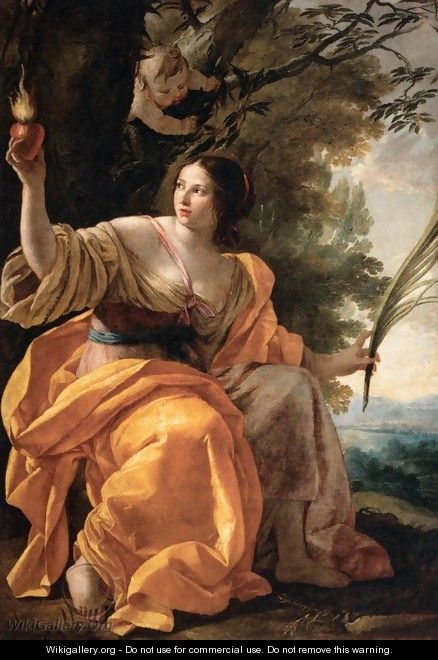 Heavenly Charity - Simon Vouet