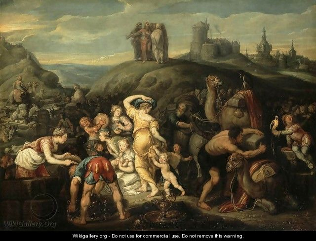 The Israelites after Crossing the Red Sea - Simon de Vos