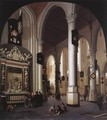 Interior of the Oude Kerk, Delft, with the Tomb of Admiral Tromp - Hendrick Van Vliet