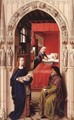 St John Altarpiece (left panel) - Rogier van der Weyden